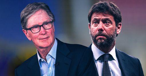 Liverpool owner John Henry and Juventus President Andrea Agneli