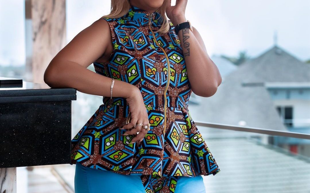 Juliet Ibrahim brings a refreshing look to African prints style