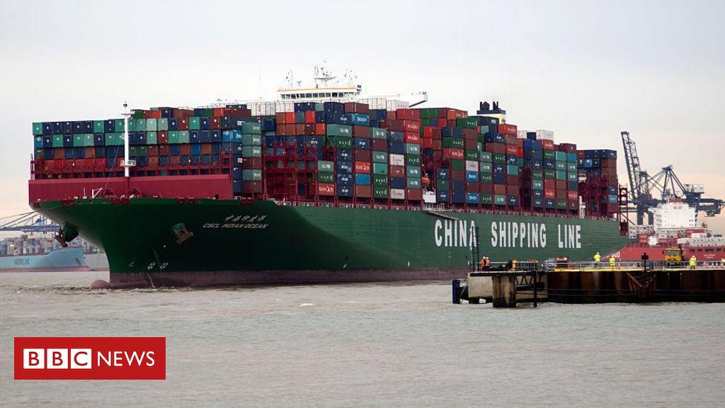 Import market: China has become UK's biggest import market.