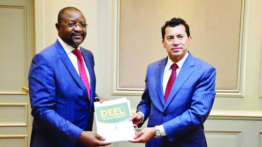 Nigeria will partner with Egypt to explore areas of mutual benefits for sports development.