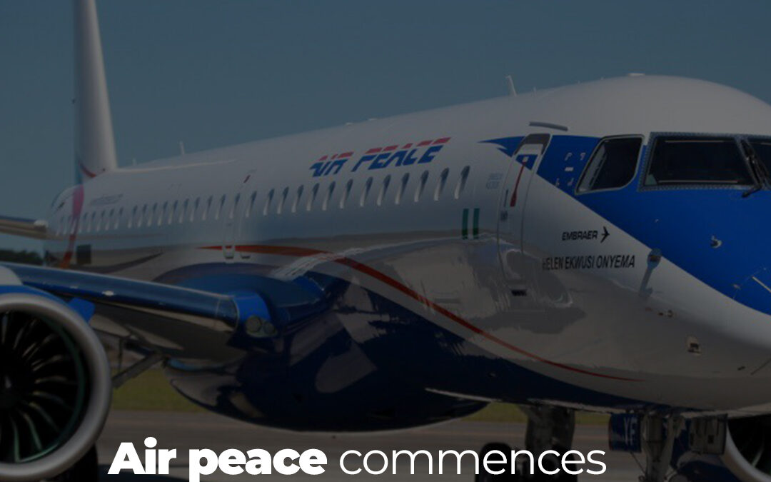 Air Peace has announced the commencement of Ilorin flights from Lagos and Abuja and has also increased its Accra flight frequency