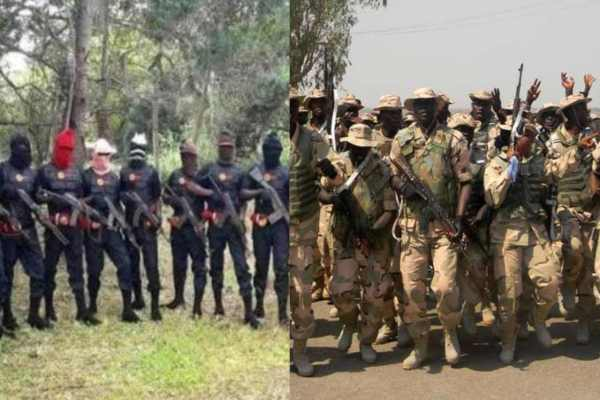 Police Allegedly Storm IPOB's ESN Camps In Imo.