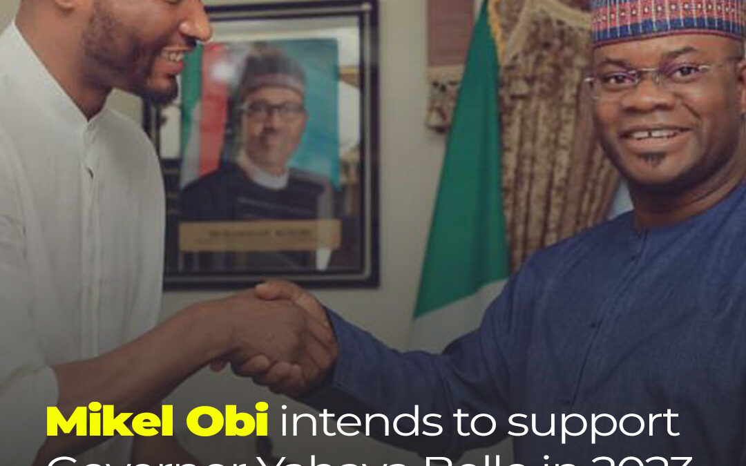 Mikel Obi intends to support Governor Yahaya Bello for 2023.