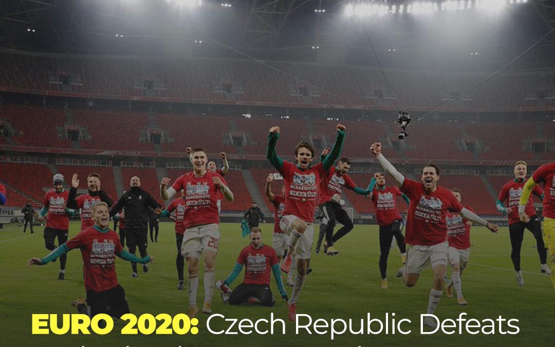 EURO 2020: Czech Republic Defeats Netherlands 2-0 proceeds to quarter-final.