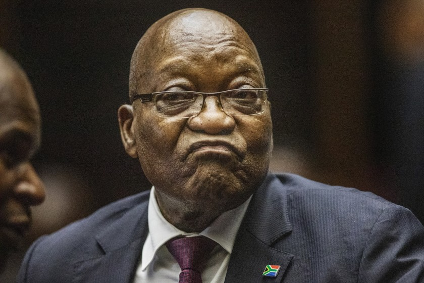 South Africa's Jacob Zuma sentenced to 15 months in jail