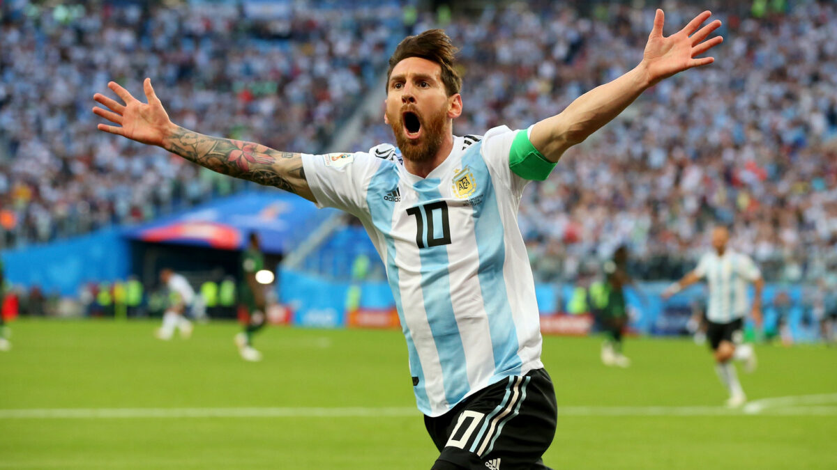 Messi equals Argentina's all-time appearance record