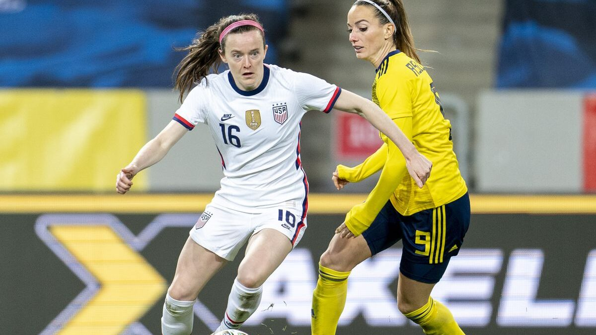 A Thrashing Blow as U.S Lose 3-0 to Sweden