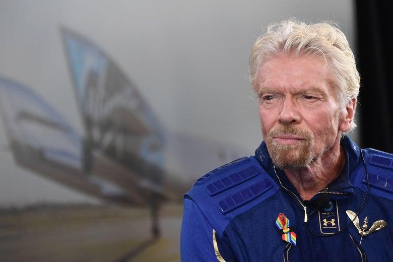 Billionaire Richard Branson reaches space on Virgin Galactic flight