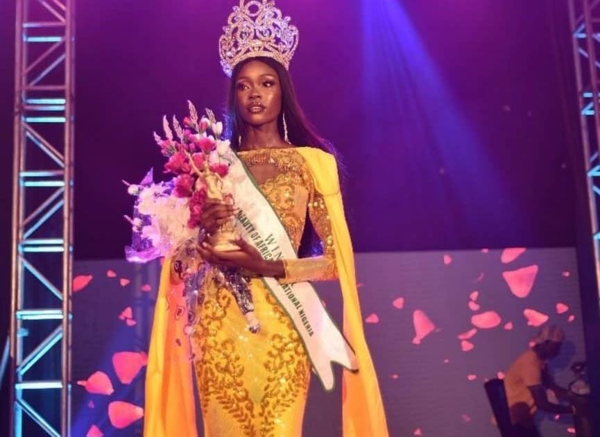 Mebine Ayibapreye Emerges Winner of Beauty of Africa 2021