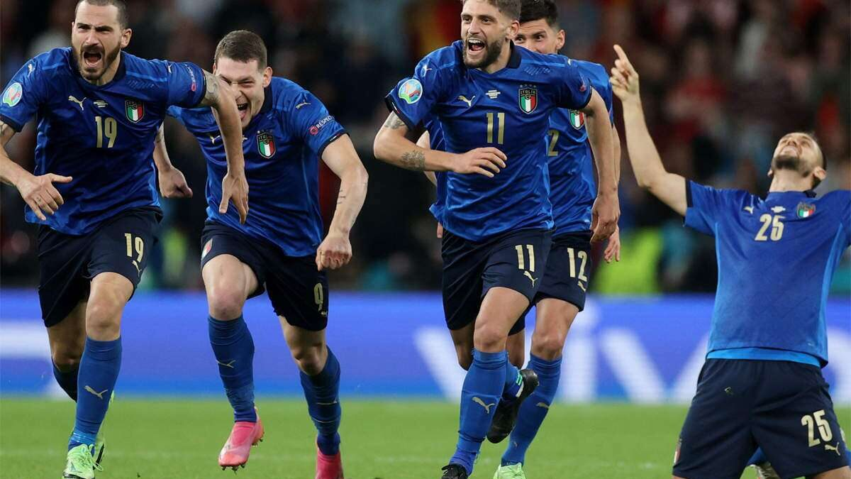 """We are """"not scared"""" of playing England at Wembley, Bonucci warns"""
