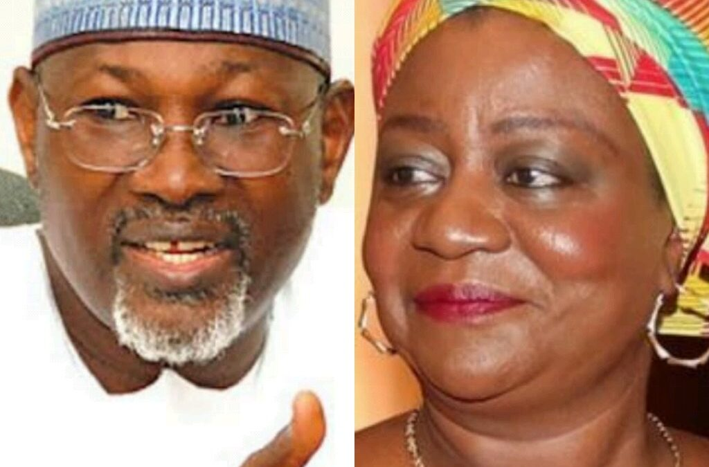 Former INEC Chairman Jega Kicks against Onochie's Nomination