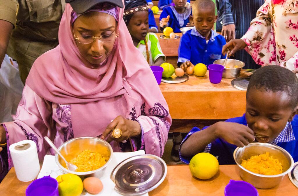 FG Embarks on Biometrics of Pupils for School Feeding Programme