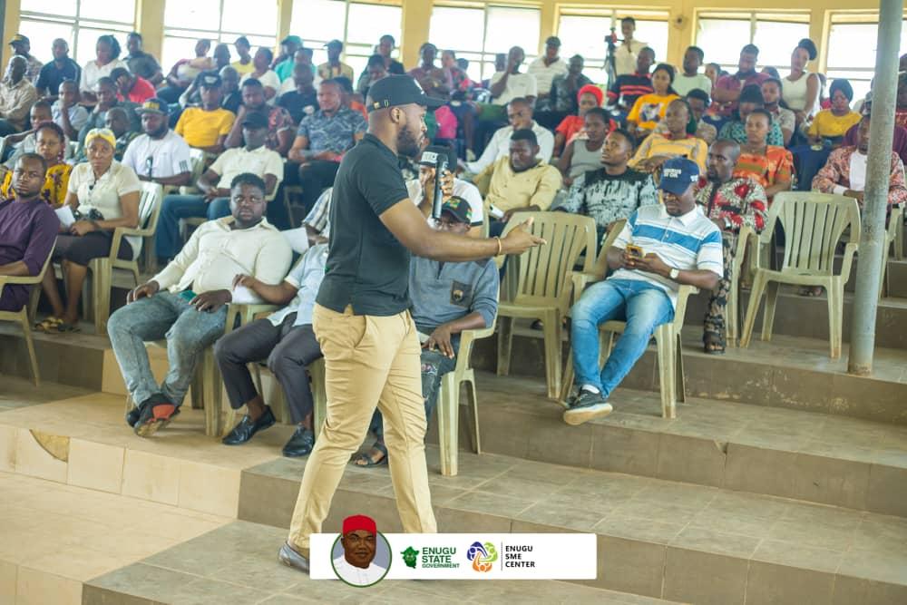 Enugu SME Center Sensitizes Rural Dwellers On Benefits of their Programs