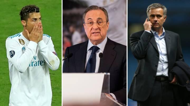Real Madrid Boss, Florentino Calls Ronaldo an Idiot in recording