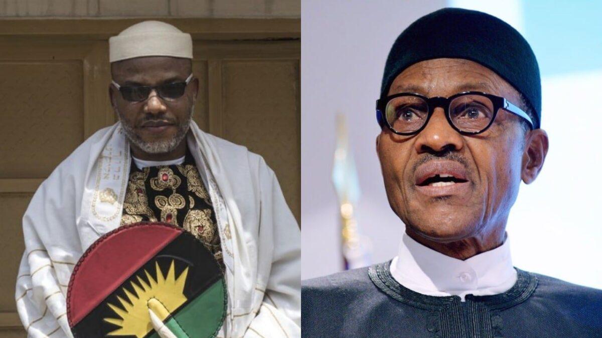 IPOB Leader Nnamdi Kanu Planned the Killing of Over 60 People- Buhari