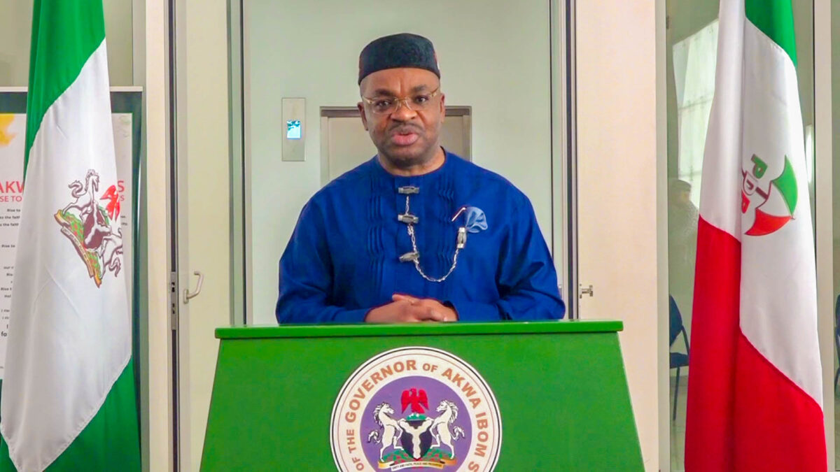Akwa Ibom Governor  calls for Expelled Varsity student's Reinstatement