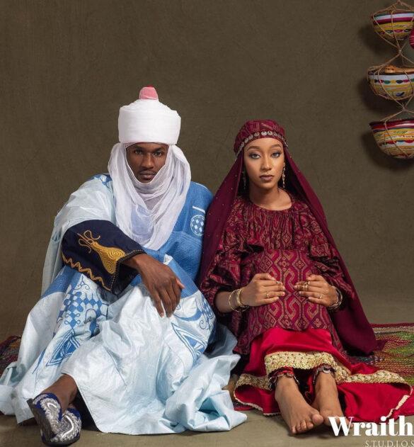 Princess Zahra Ado Bayero and Yusuf Buhari wedding pictures