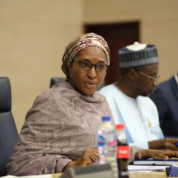 Nigeria's finance minister, Zainab Ahmed