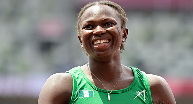 Ese Brume Wins Nigeria Her First Medal at Tokyo Olympics