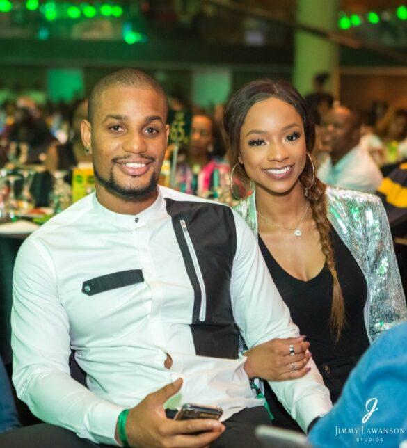 Alex Ekubo and Fancy Accholonu