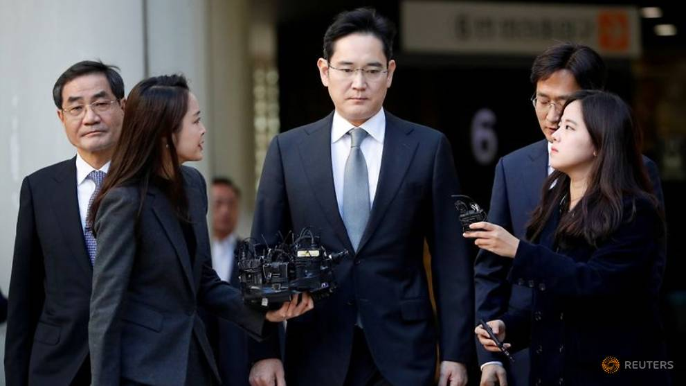 Samsung Heir, Jay Y. Lee to be Released From Jail on Parole