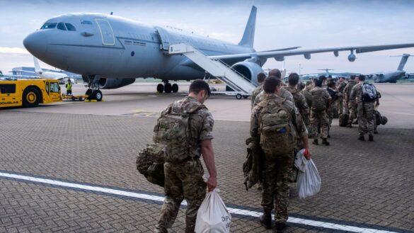 Teoops Leaving from US to Afghanistan