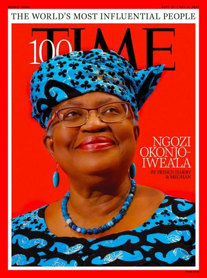 Ngozi Okonjo-Iweala Makes TIME's 'Top 100 Most Influential People In The World'