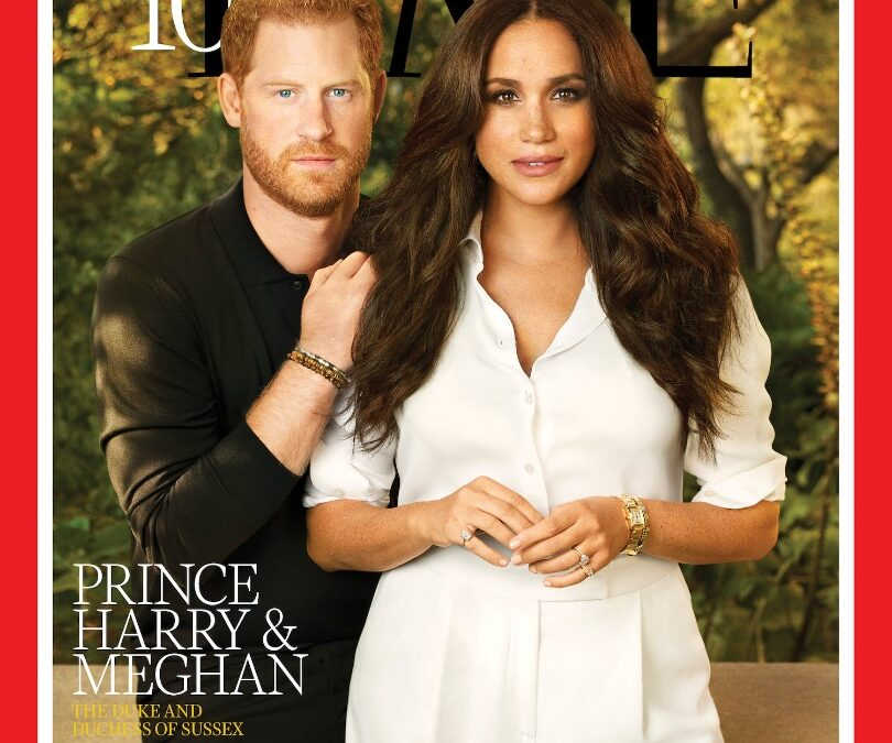 Prince Harry, Meghan Markle Make TIME's 'Top 100 Most Influential People In The World'