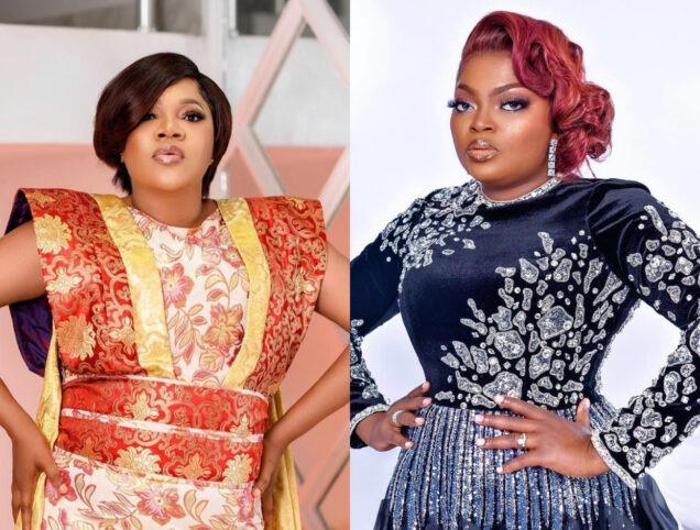 Toyin Abraham Debunks Beef Rumours With Funke Akindele