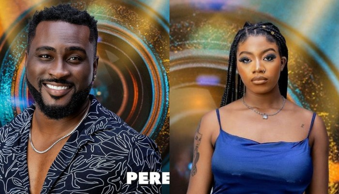 BBNaija: Angel and Pere Join Top 6