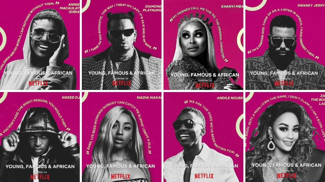 Netflix's Event Tudum, 'Young, Famous, And African' Premieres