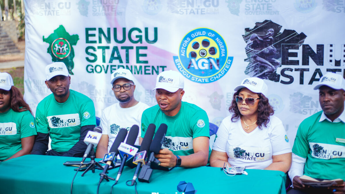 The Actors Guild Of Nigeria Is SetTo LaunchThe Enugu State Film Project