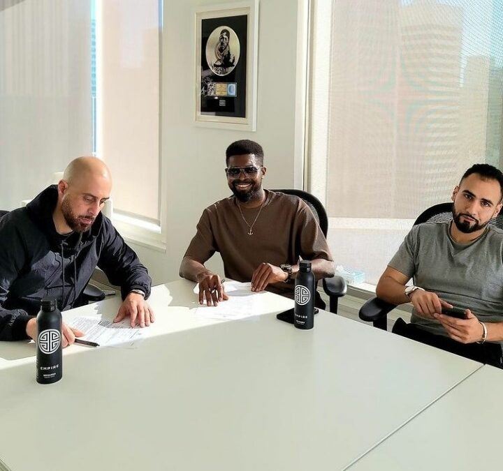 Comedian Basketmouth Signs A Music Deal With Empire