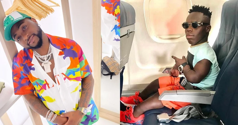 Shatta Bandle Contacts Davido On FaceTime And Offers Him A Loan.