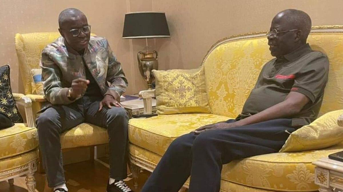 Sanwo-Olu Hails Tinubu As A Legend And Backs His bid For The Presidency In 2023